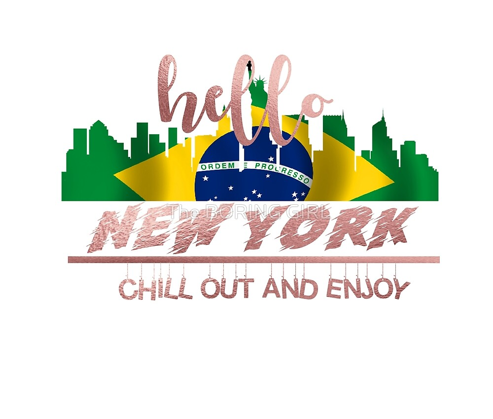 HELLO NEW YORK by The BORING GIRL