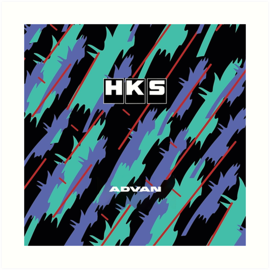 HKS Advan JDM by GuilleAlfonsin