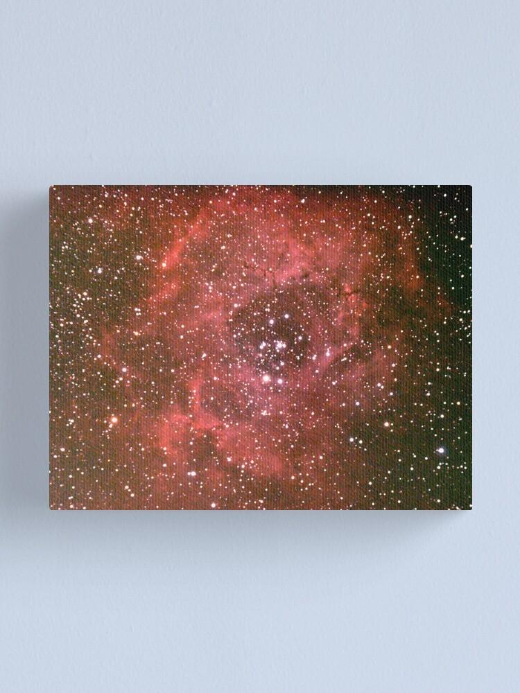 Alternate view of rosette nebula Canvas Print