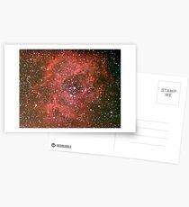 rosette nebula Postcards