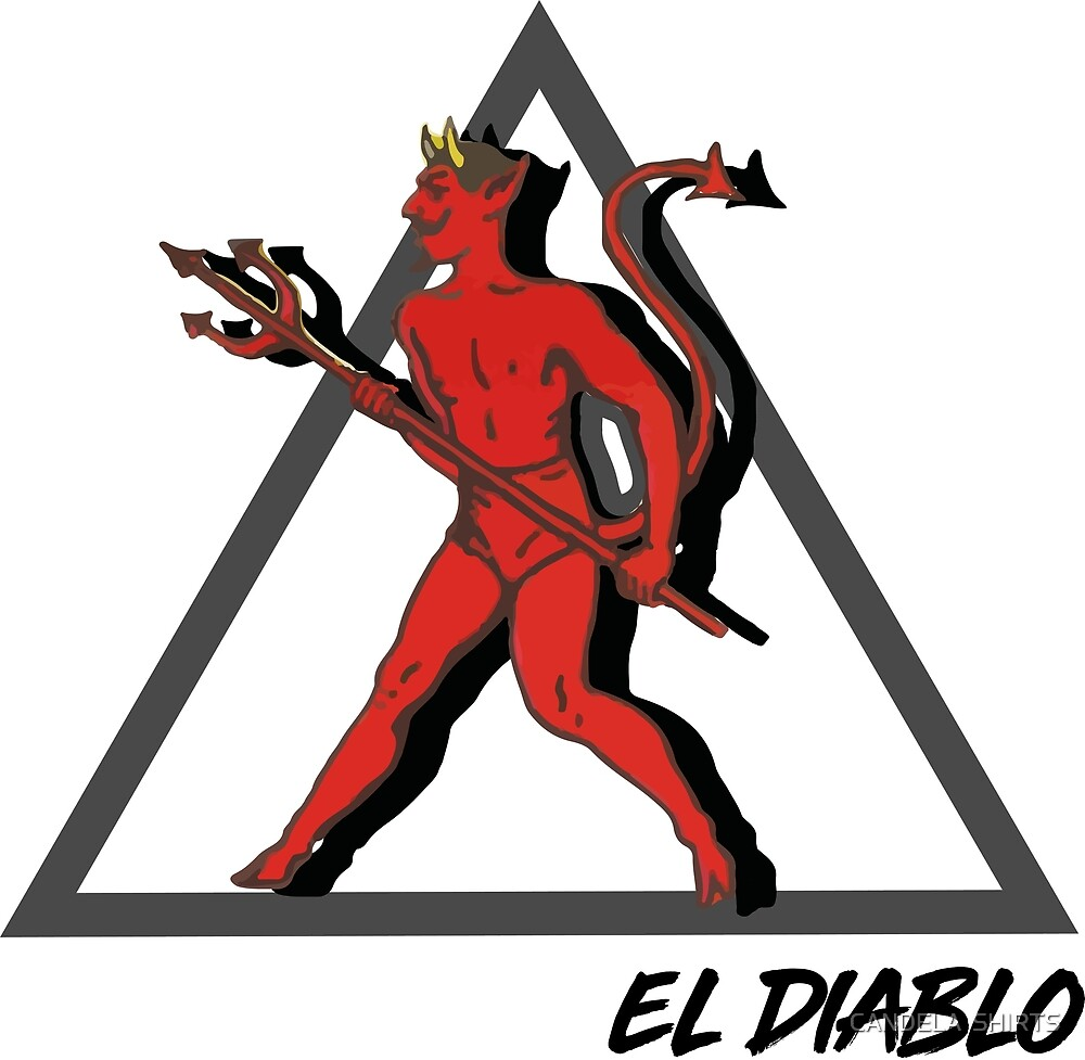 EL DIABLO - THE DEVIL by CANDELA  SHIRTS