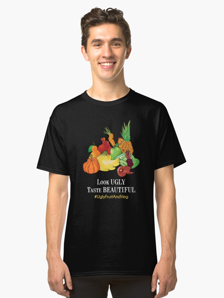Ugly Fruit And Veg Classic T-Shirt Front
