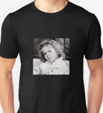 Shirley Temple Deep in Thought Unisex T-Shirt