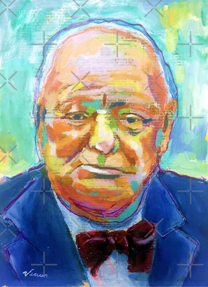 Winston Churchill by VenusArtist
