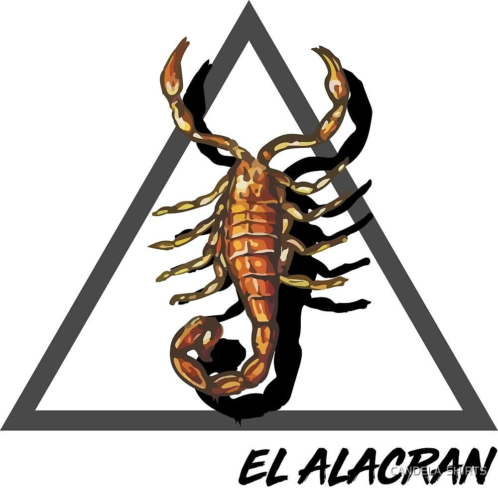 EL ALACRAN - THE SCORPION by CANDELA  SHIRTS