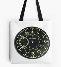 Old Russian stopwatch's dial Tote Bag