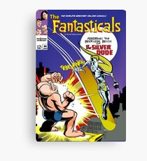 The Fantasticals vs Peerless Silver Dude Canvas Print
