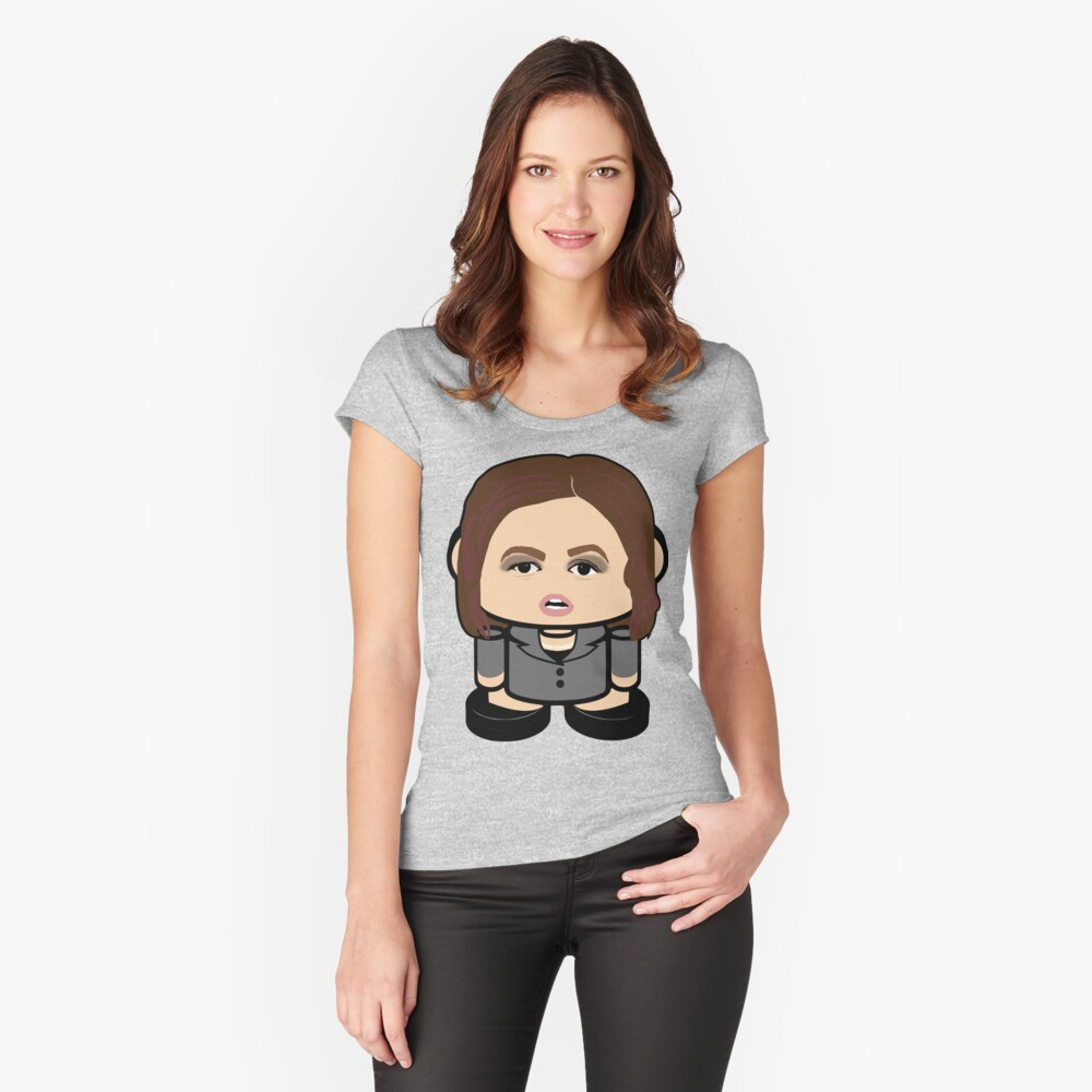 Huckaboo Politico'bot Toy Robot 2.0 Fitted Scoop T-Shirt