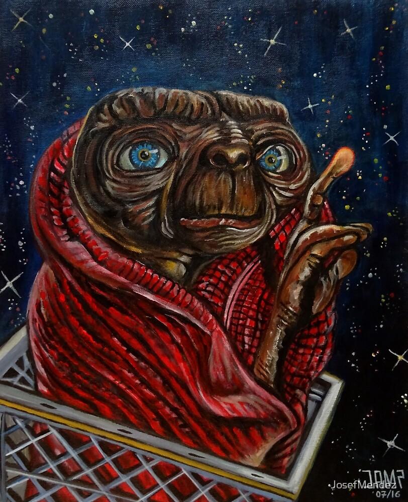 E.T. the Extra-Terrestrial  by JosefMendez