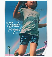 The Florida Project Rainbow Poster
