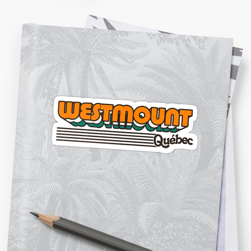 Westmount, Québec | Retro Stripes by retroready
