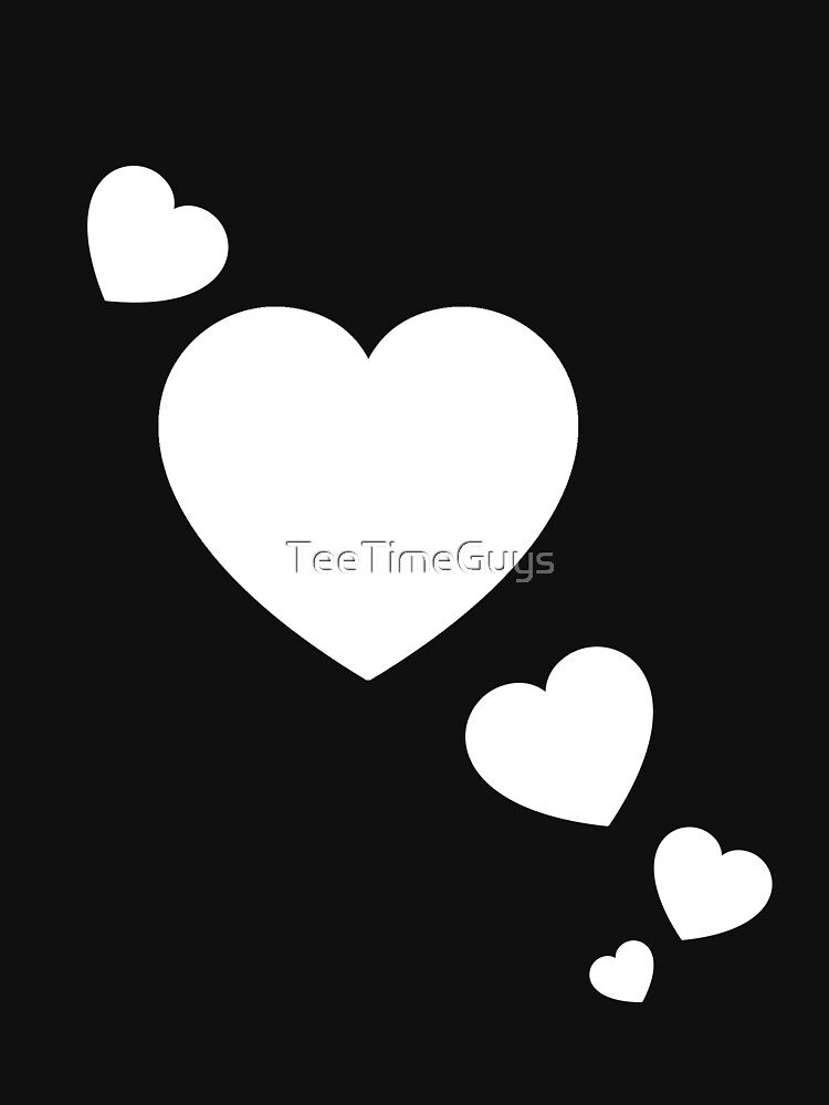 Cool Valentines Day Hearts V2 by TeeTimeGuys