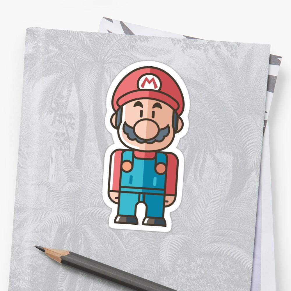Mario Sticker by Giulia  Ortu