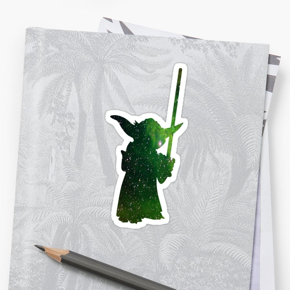 Yoda Galaxy by zanlee