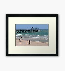 Bradman? Why not? Framed Print