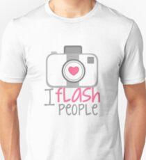 camera photographer flash T-Shirt