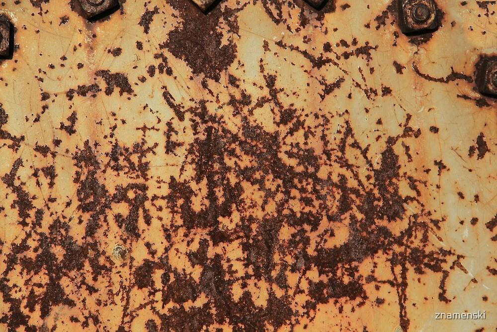 Rusty iron by znamenski