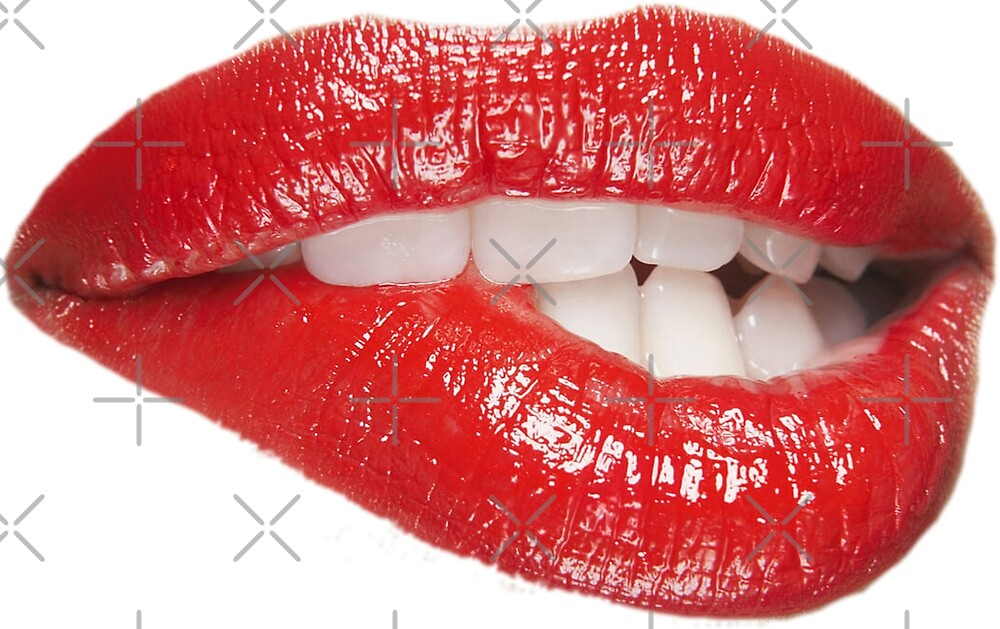 Lip Biting by Ben Brown
