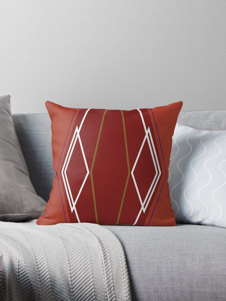 Design geometric Lines ethno brown by Bee and Glow Illustrations Shop