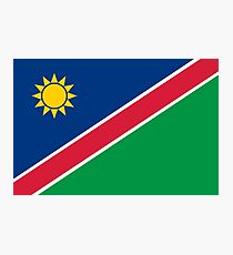 Flag of Namibia Photographic Print