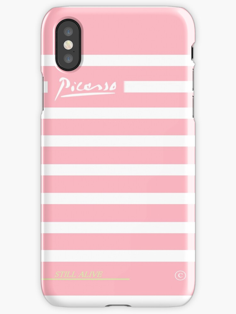 iphone Picasso phone case by Anne Heuri