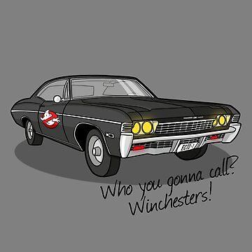 Ghosthunters by Burgernator
