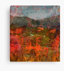 Poisoned Glen blanket Canvas Print