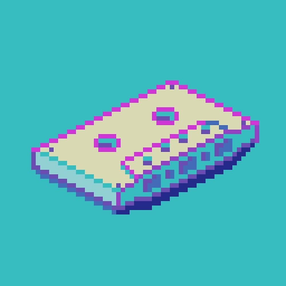 Vaporwave Cassette by Kevin Houlihan