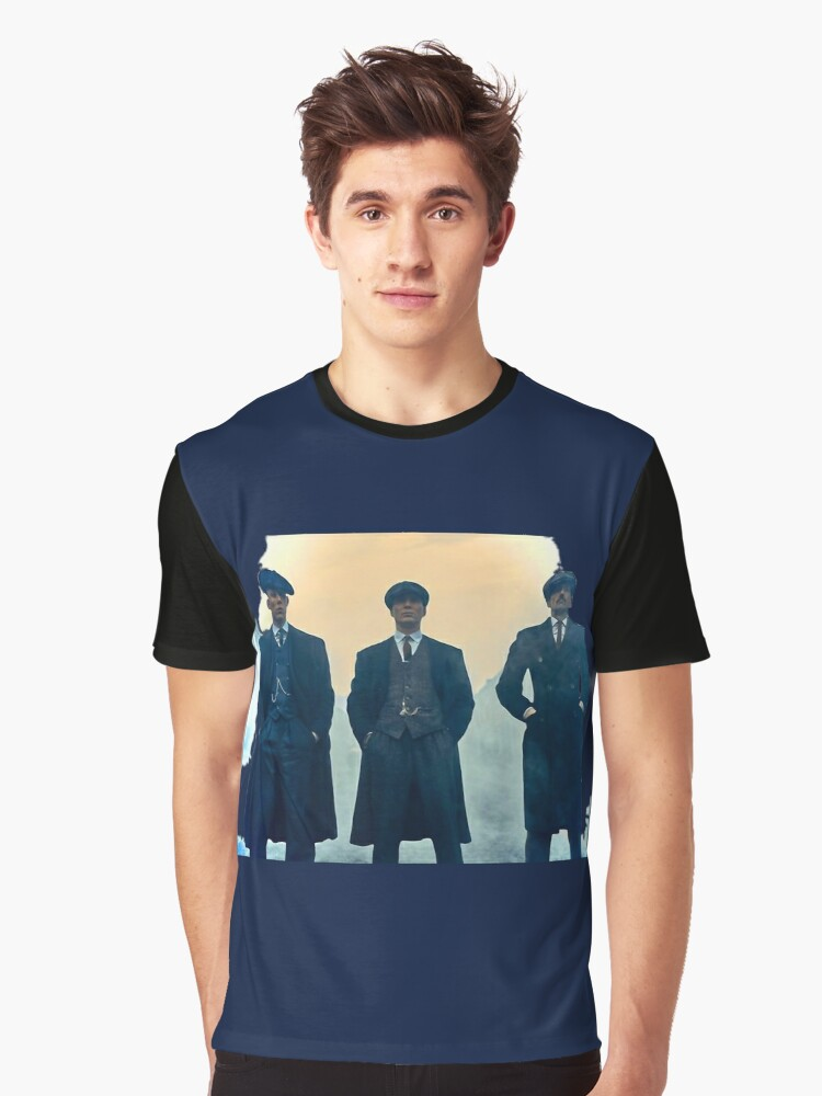 Peaky Blinders 2017 Series Graphic T-Shirt Front