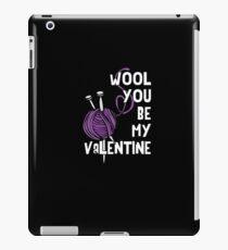 Wool You Be My Valentine iPad Case/Skin