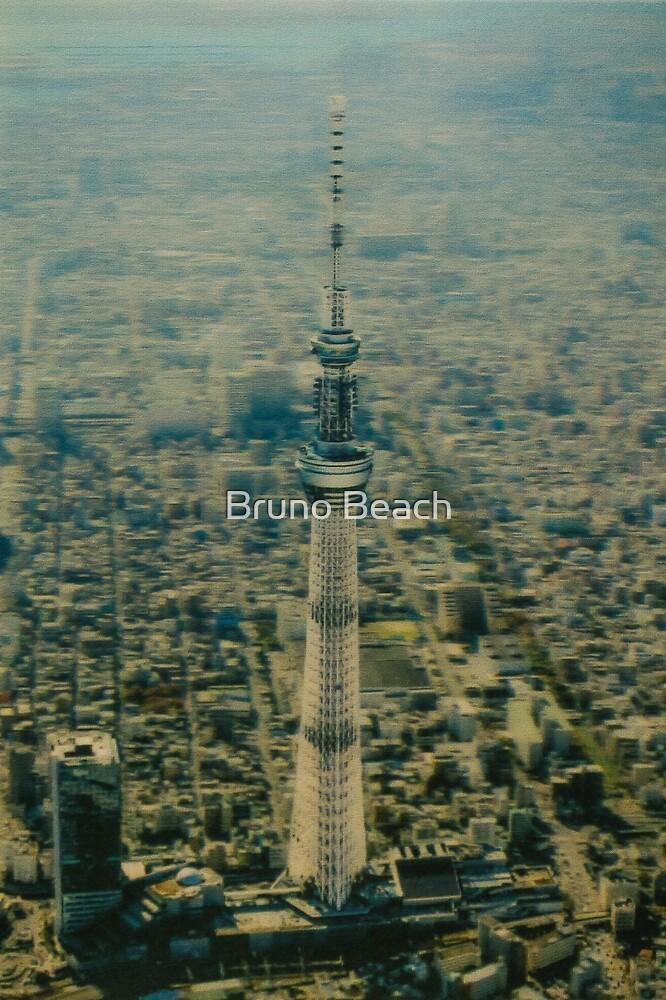 Tokyo Skytree, Japan - Drone view by Bruno Beach