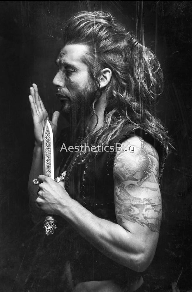 Mads Mikkelsen - Long Haired Edit 2 by AestheticsBug