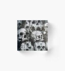 Skulls Acrylic Block