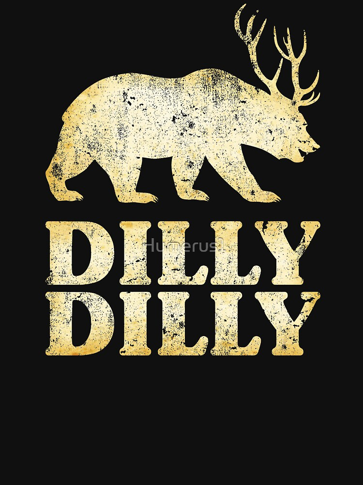 Dilly Dilly Bear Deer by Humerus1