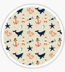 Shore Line Pattern Sticker