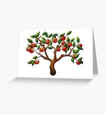 Tiny Apple Tree Greeting Card