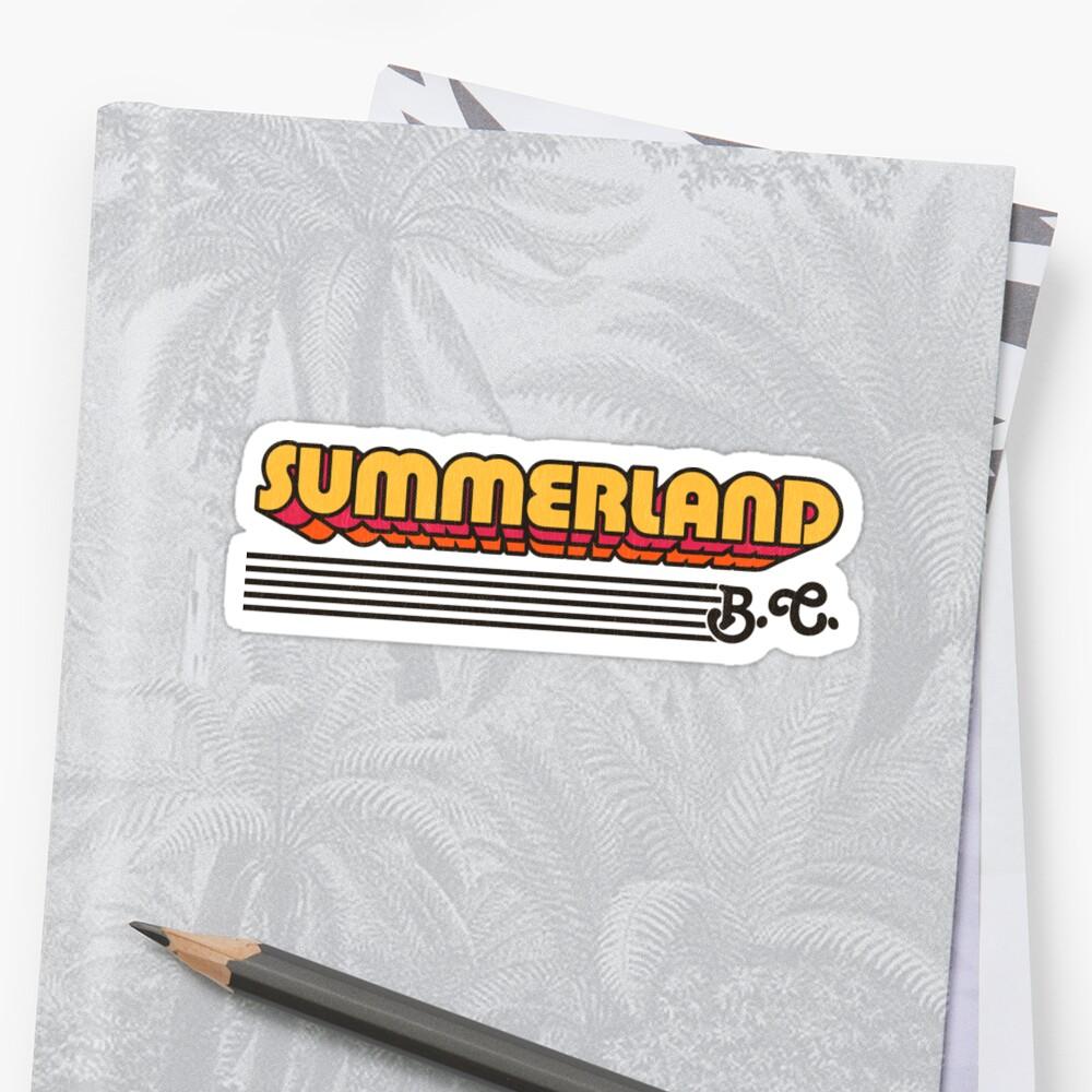 Summerland, BC | Retro Stripes by retroready
