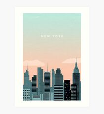 New York Kunstdruck