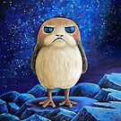 Grumpy Space Puffin by lupi