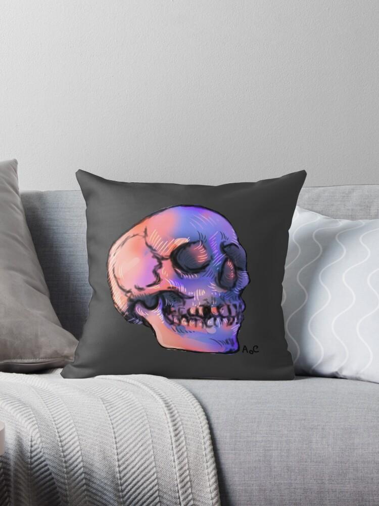 Sunset Skull AoC by artofchilly