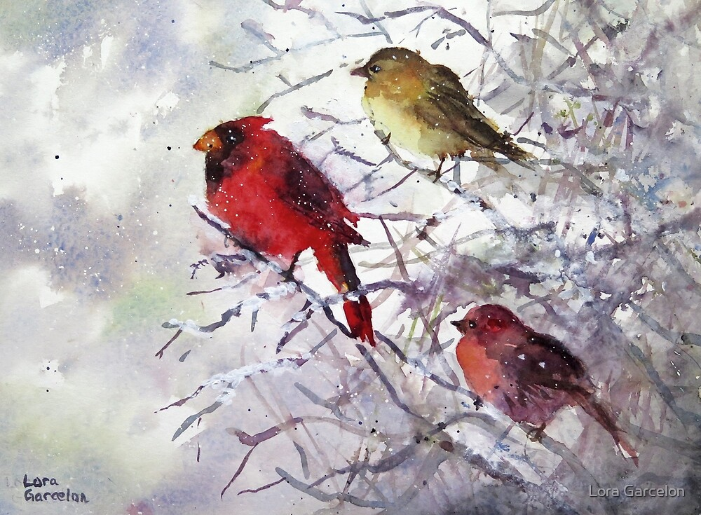 Snowbirds by Lora Garcelon