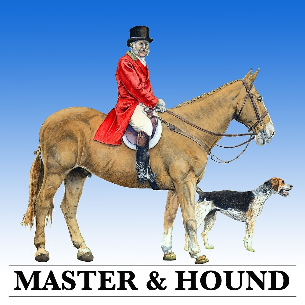Master & Hound by TheArtyBrit