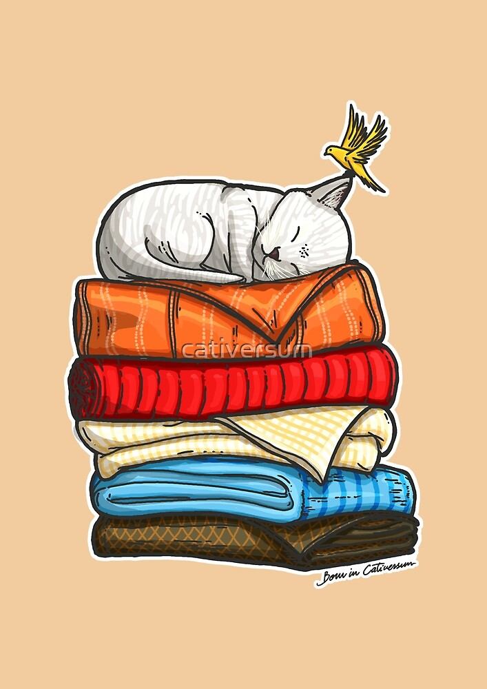 Sleepy Kitty by cativersum