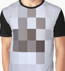 Светло синие прямоугольники не имеющие смысла - Light blue rectangles that do not make sense Graphic T-Shirt