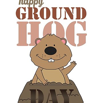 Happy Groundhog Day by MellowSphere