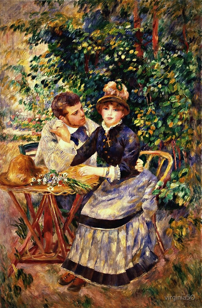 Renoir - In the Garden by virginia50