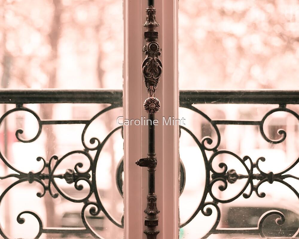 Paris in blush pink I by Caroline Mint