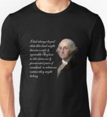 George Washington Quote On Shithole Countries Unisex T-Shirt