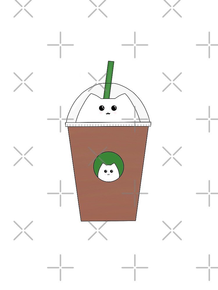 Catbucks Catuccino by ahillustration