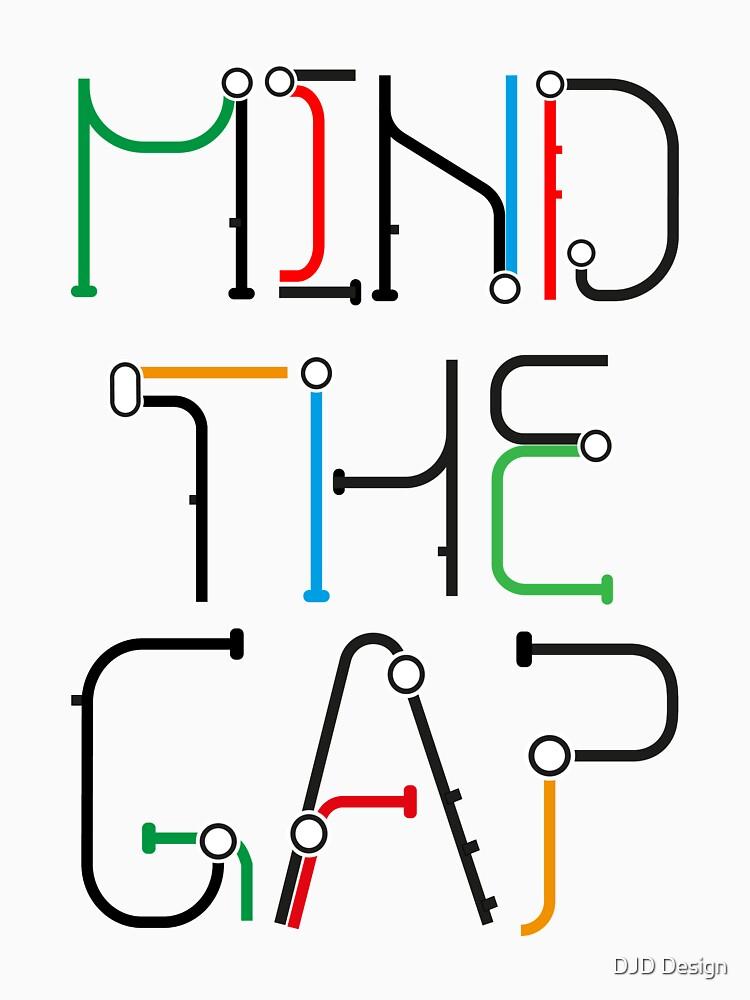 Mind the Gap - London Tube Inspired Font by DanDobsonDesign